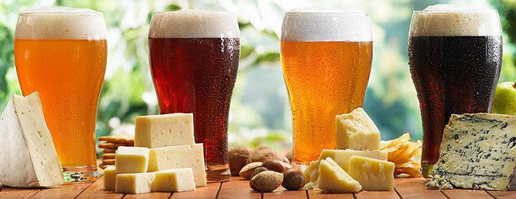 Verschillende kazen passen bij verschillende bieren.